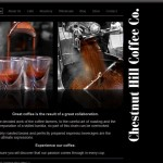 Chestnut Hill Coffee Co. Screenshot